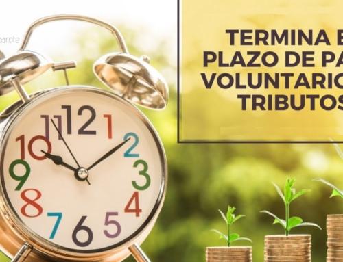Termina el periodo voluntario de pago